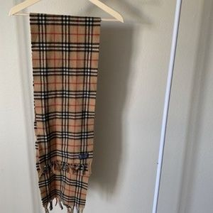 Vintage Authentic Burberry Scarf